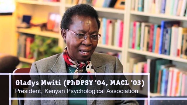 An International Committee Interview with Gladys Mwiti, PhD